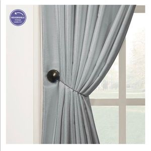 BH&G 6 Bronzed Magnetic Holdbacks For Curtains